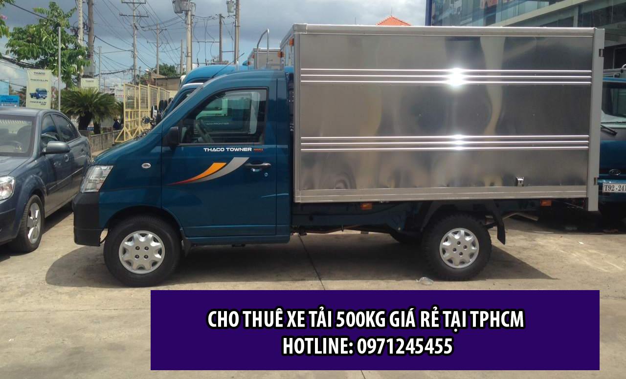Cho thuê xe 500kg giá rẻ tại TPHCM - Đường Việt Sài Gòn