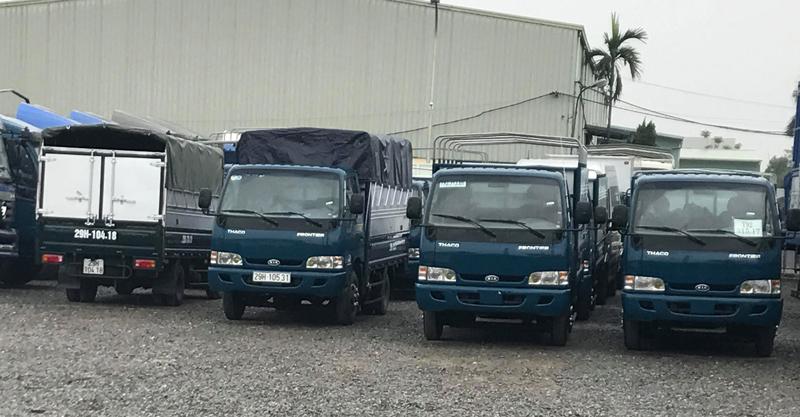 Cho thuê xe tải 3.5 tấn tại TPHCM – Đường Việt Sài Gòn