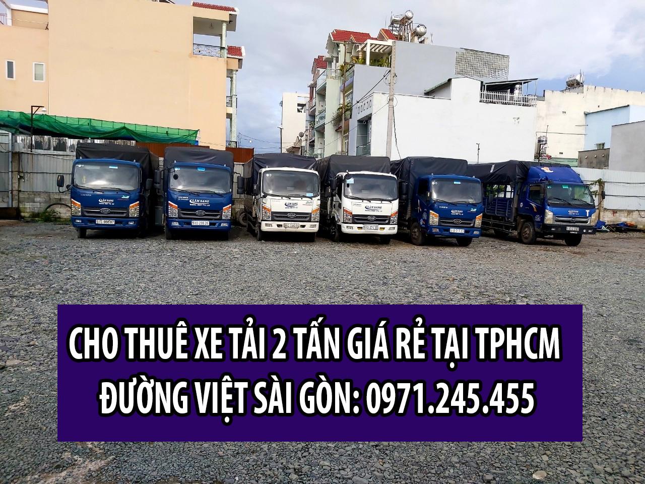 Cho thuê xe tải 2 tấn giá rẻ