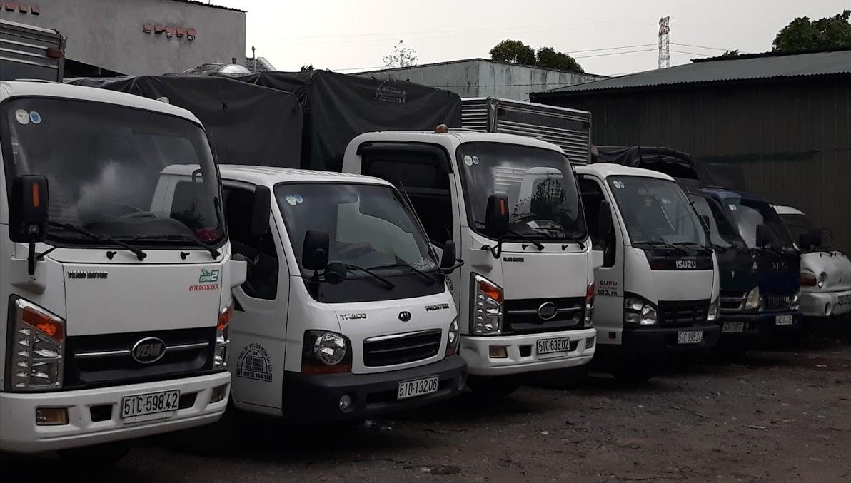 Cho thuê xe tải 2 tấn giá rẻ tại tphcm