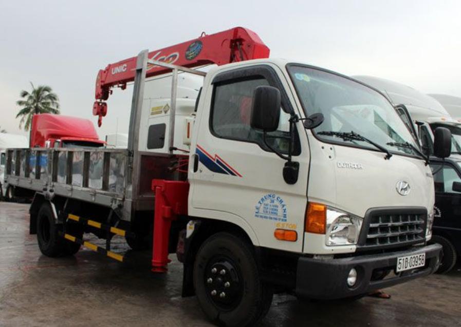 Cho thuê xe tải cẩu hàng giá rẻ tại Quận 3 - 0971.245.455