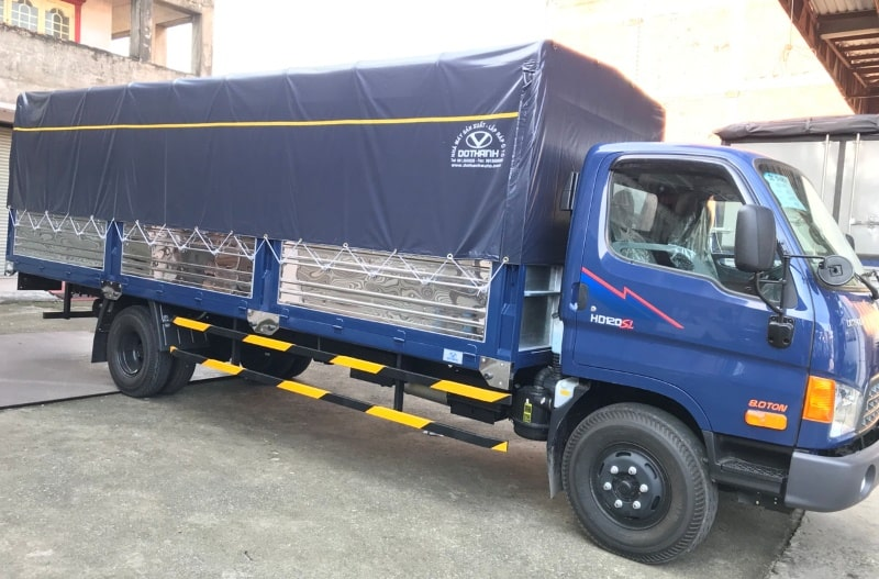 Cho thuê xe tải chở hàng tại TPHCM – Đường Việt Sài Gòn