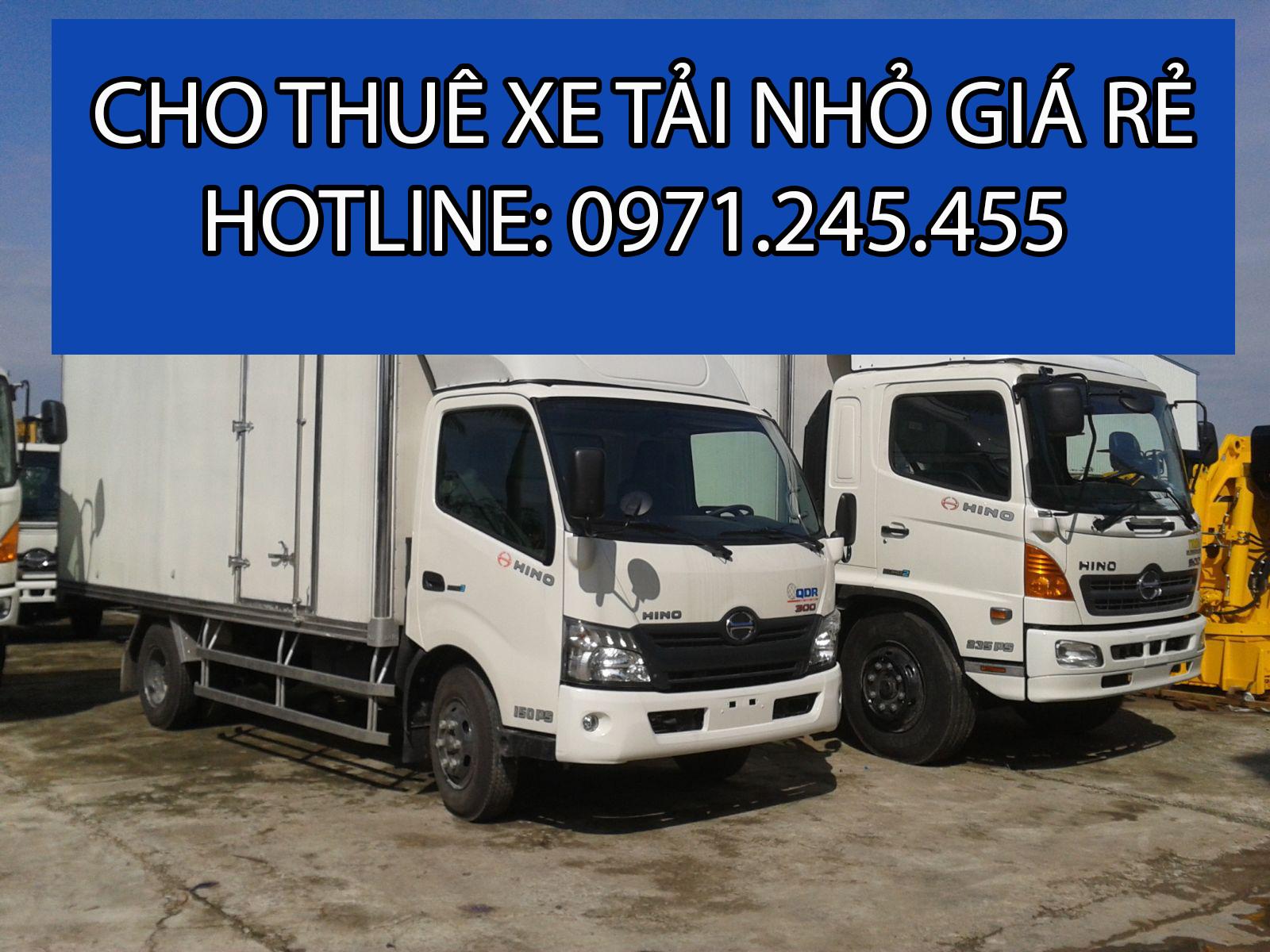 Chở hàng thuê xe tải nhỏ uy tín, giá rẻ tại TPHCM