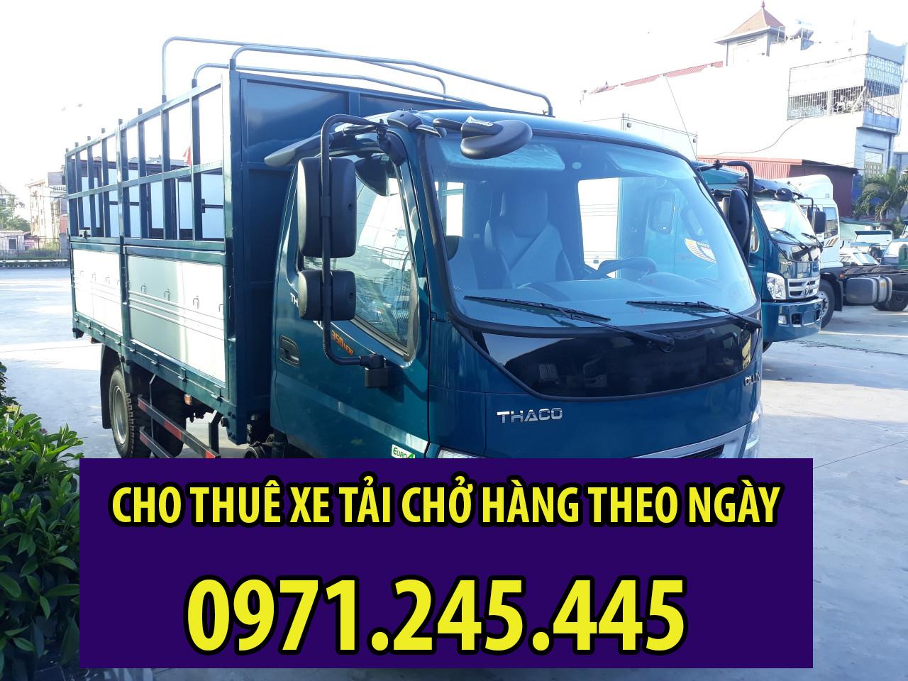 Dịch vụ cho thuê xe tải theo ngày tại Sài Gòn