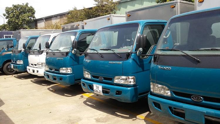 Xe tải chở hàng giá rẻ tại Quận Bình Thạnh