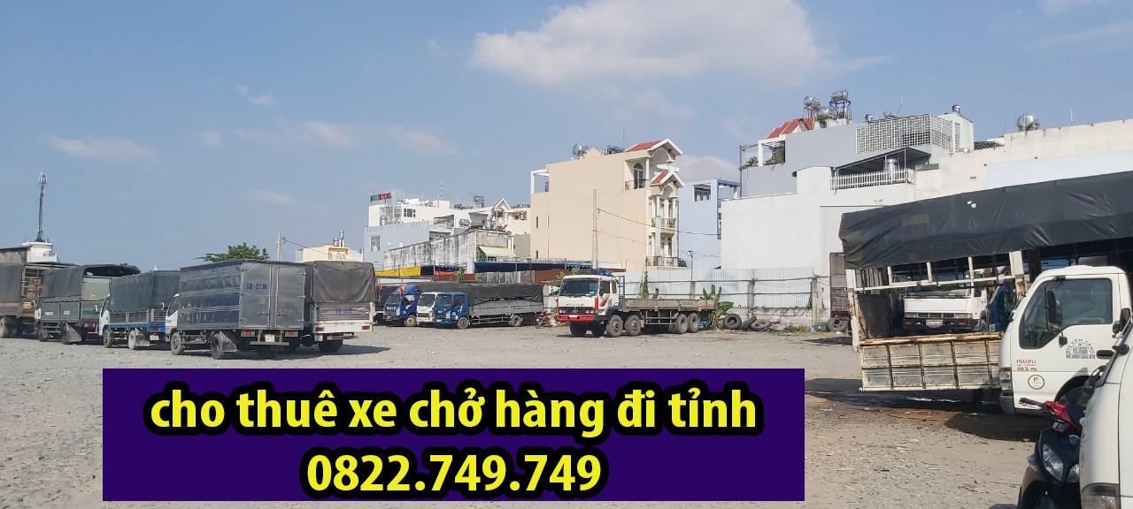 Thuê xe chở hàng đi tỉnh tại TPHCM – Đường Việt Sài Gòn