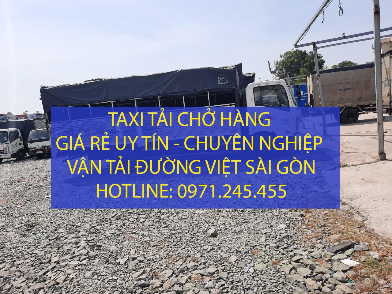 Cho thuê taxi tải giá rẻ - Thuê taxi tải 24/24 – vận tải Đường Việt Sài Gòn