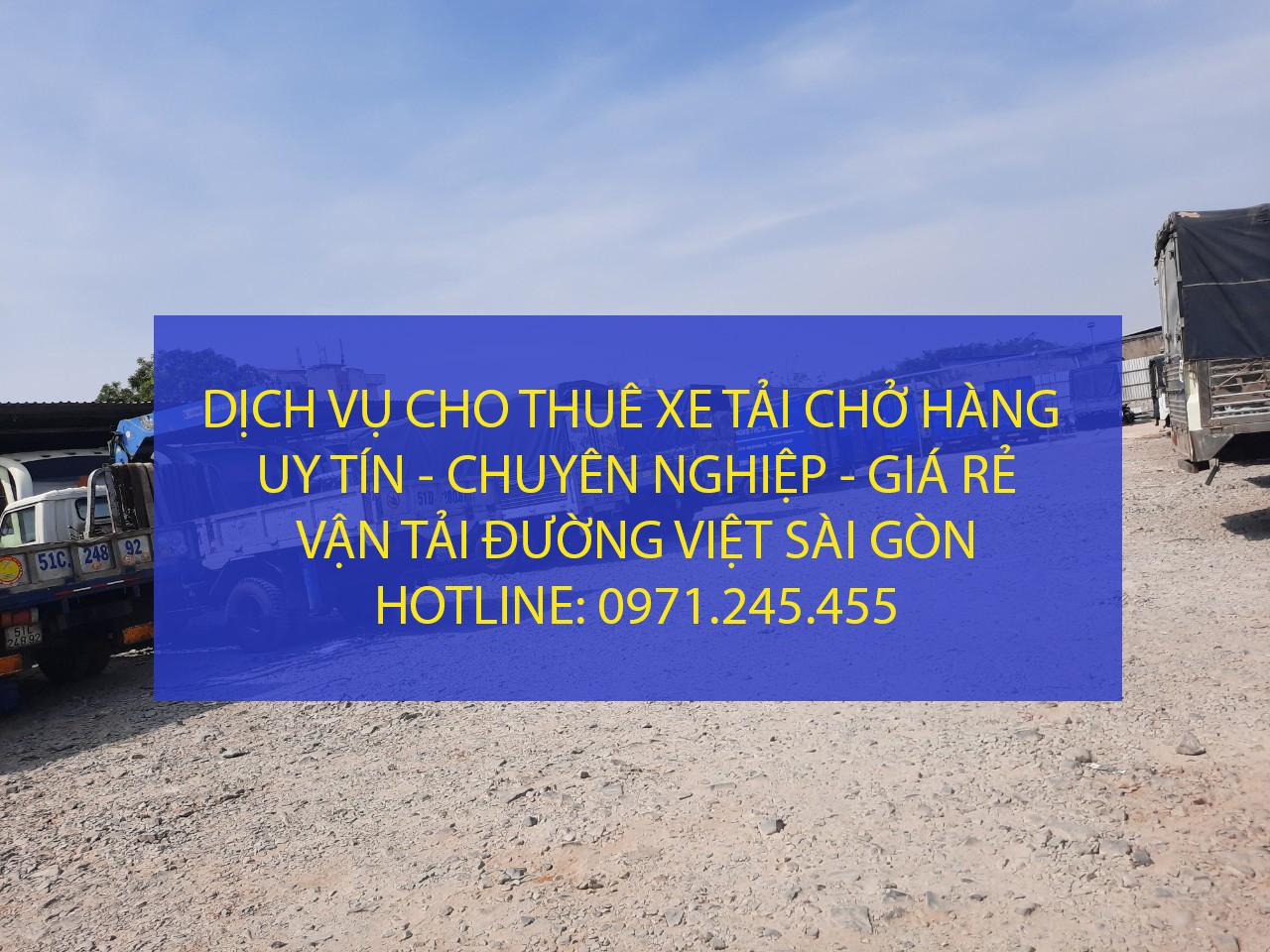 Cần thuê xe tải vận chuyển hàng hoá tại TPHCM - LH: 0971.245.455