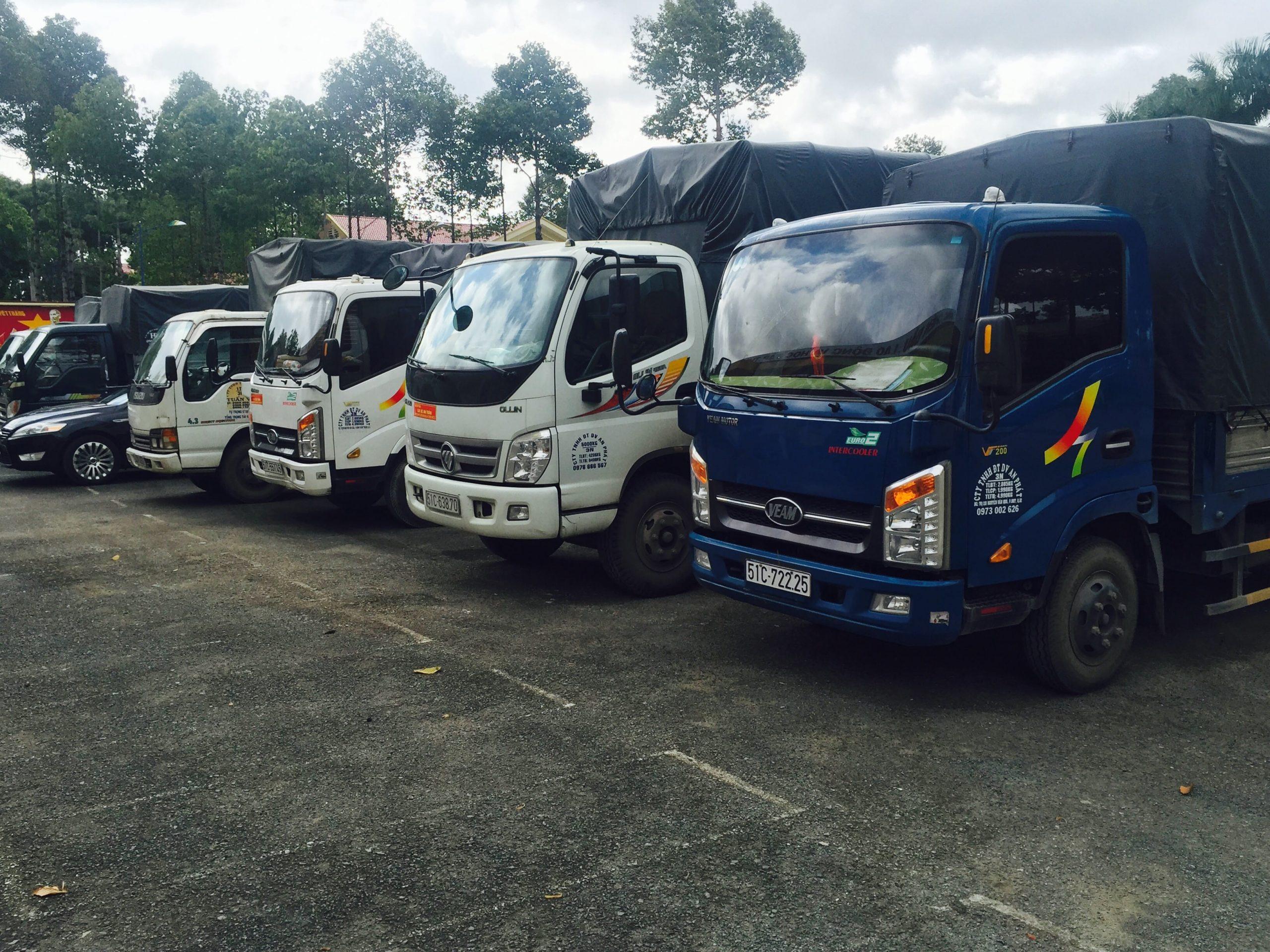 Nhận chở hàng thuê giá rẻ tại TPHCM – Vận tải Đường Việt Sài Gòn