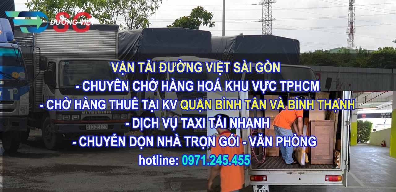 Dịch vụ vận chuyển hàng hoá tại Quận Bình Tân