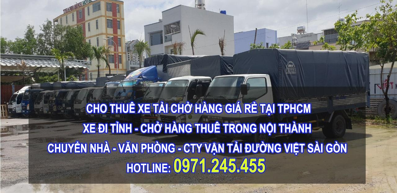 Dịch vụ cho thuê xe tải, taxi tải tại tphcm giá rẻ, chuyên nghiệp, nhanh chóng nhất