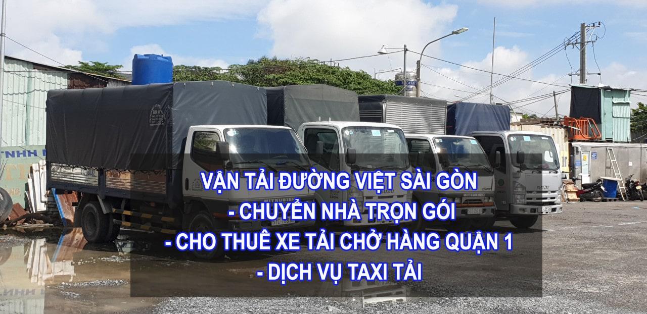 Dịch vụ cho thuê xe tải chở hàng quận 1 giá rẻ