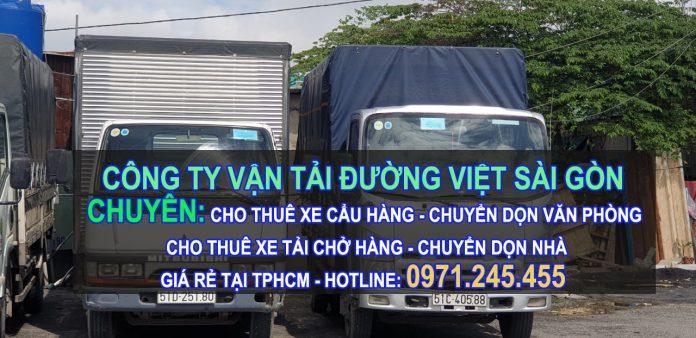 dịch vụ cho thuê xe tải chở hàng giá rẻ tại tphcm