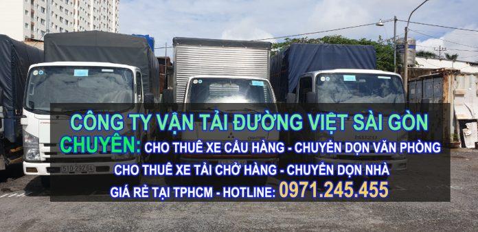 cho thue xe tải chở hàng giá rẻ tại tphcm