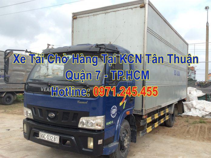 Xe Tải Chở Hàng Tại KCN Tân Thuận Quận 7 - TP.HCM