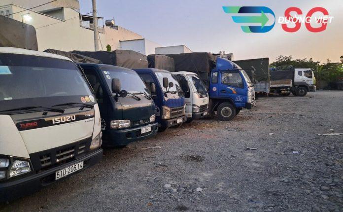cho thuê xe tải chở hàng khu công nghiệp tại TPHCM