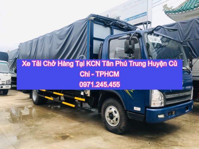 Dịch vụ cho thuê xe tải chờ hàng tphcm