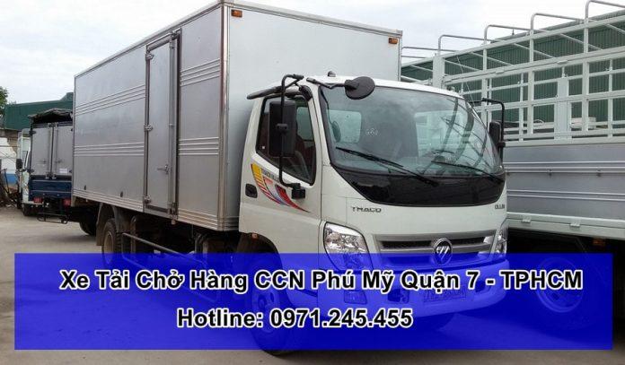Xe Tải Chở Hàng CCN Phú Mỹ Quận 7 - TPHCM