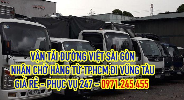 Xe tải chở hàng từ TPHCM đi Vũng Tàu