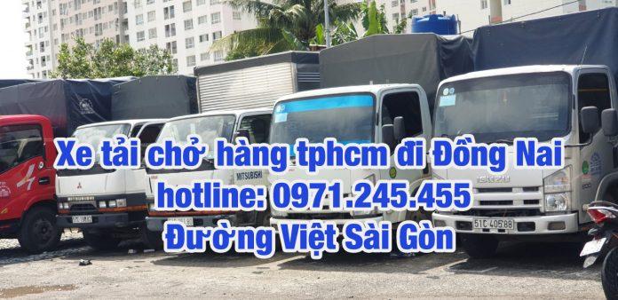 Dịch vụ chở hàng đi Đồng NAI