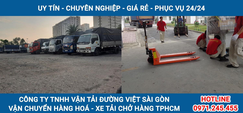 Dịch vụ vận chuyển hàng hoá TẠI TPHCM