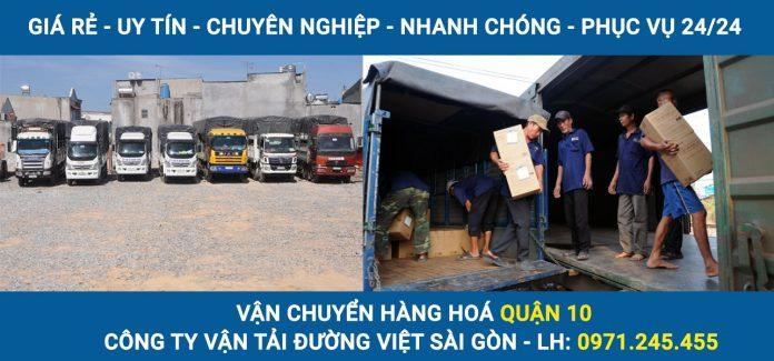 dịch vụ vận chuyển hàng hoá - xe tải chở hàng quận 10 giá rẻ