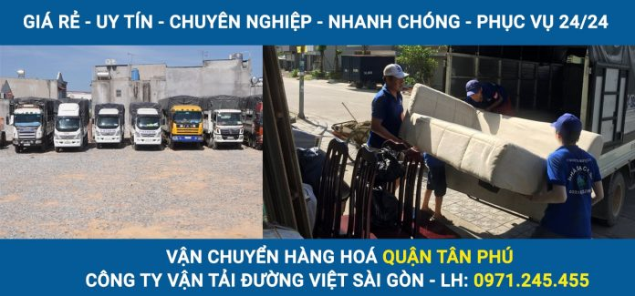 Vận chuyển hàng hoá Quận Tân Phú - Đường Việt Sài Gòn