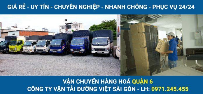 Vận chuyển hàng hoá Quận 6 - Cty vận tải Đường Việt Sài Gòn