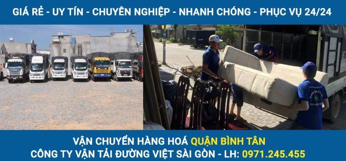Vận chuyển hàng hoá Quận Bình Tân - Đường Việt Sài Gòn