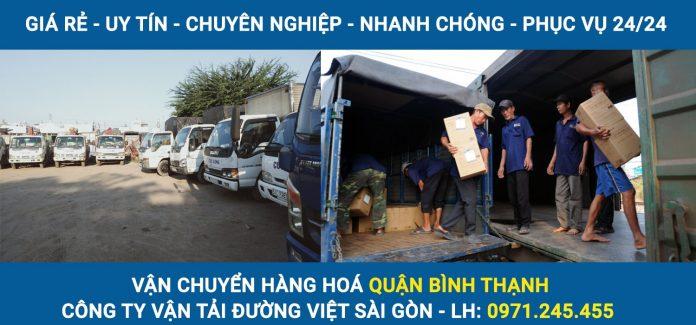 Dịch vụ vận chuyển hàng hoá quận Bình Thanh giá rẻ, phục vụ 24/24