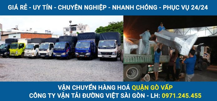 Vận chuyển hàng hoá Quận Gò Vấp - Đường Việt Sài Gòn