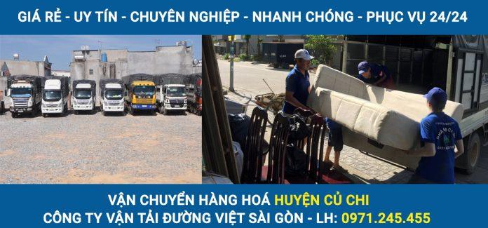 Vận chuyển hàng hoá Huyện Củ Chi - Đường Việt Sài Gòn