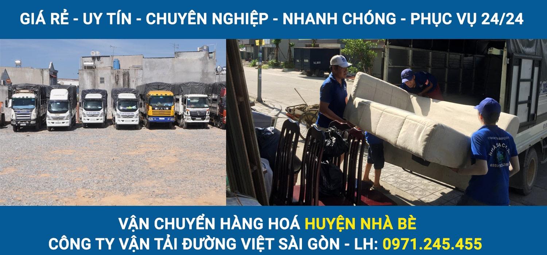 Vận chuyển hàng hoá Huyện Nhà Bè - Đường Việt Sài Gòn