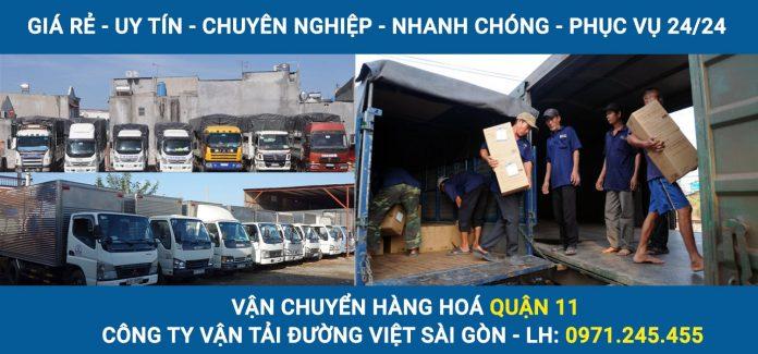 Vận chuyển hàng hoá Quận 11 - Công ty vận tải Đường Việt Sài Gòn