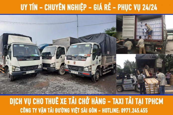 Dịch vụ cho thuê xe tải chở hàng giá rẻ hàng đầu hiện nay tại tphcm