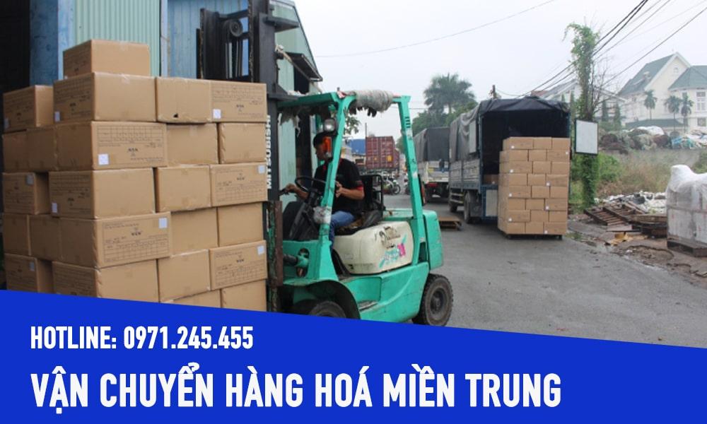 Công ty chuyên vận chuyển hàng hóa TPHCM đi Miền Trung