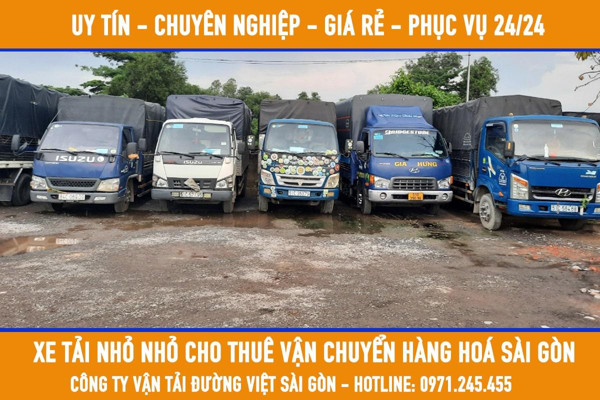 Dịch vụ taxi tải chuyển nhà, chở hàng, chuyển dọn văn phòng