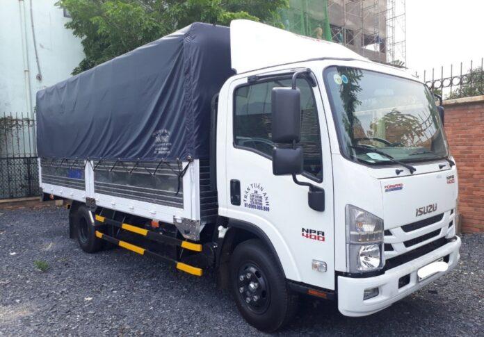 Xe tải chở hàng 3.5 tấn, 5 tấn cho thuê tại TPHCM giá rẻ