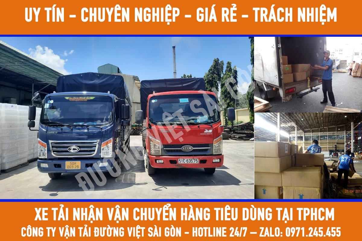Dịch vụ vận chuyển hàng tiêu dùng tphcm giá rẻ